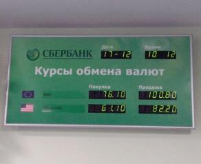 Как поменять рубли на доллары в Сбербанке - все способы